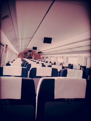 empty at high speed beijing - shanghai by mmq