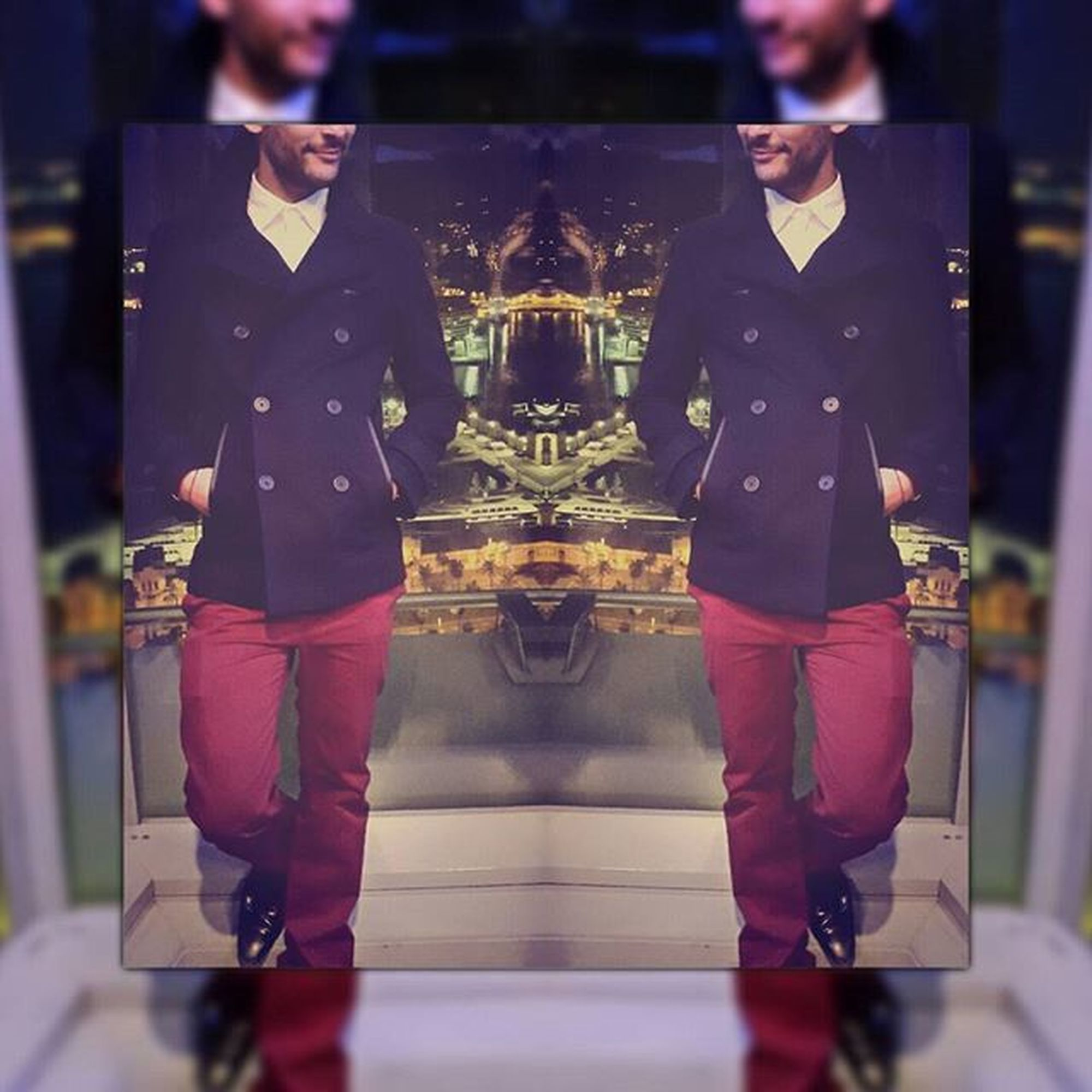 Remember Winter 2014 Barcelone Barcelona Whotel Whotelbarcelona Wbarcelona Eclipse Eclipsebar Dandy Elegant Dandystyle Caban Redpants  Merclondon Marin Fashion Mode Chilling Saturdaynight Montpellier Mtp