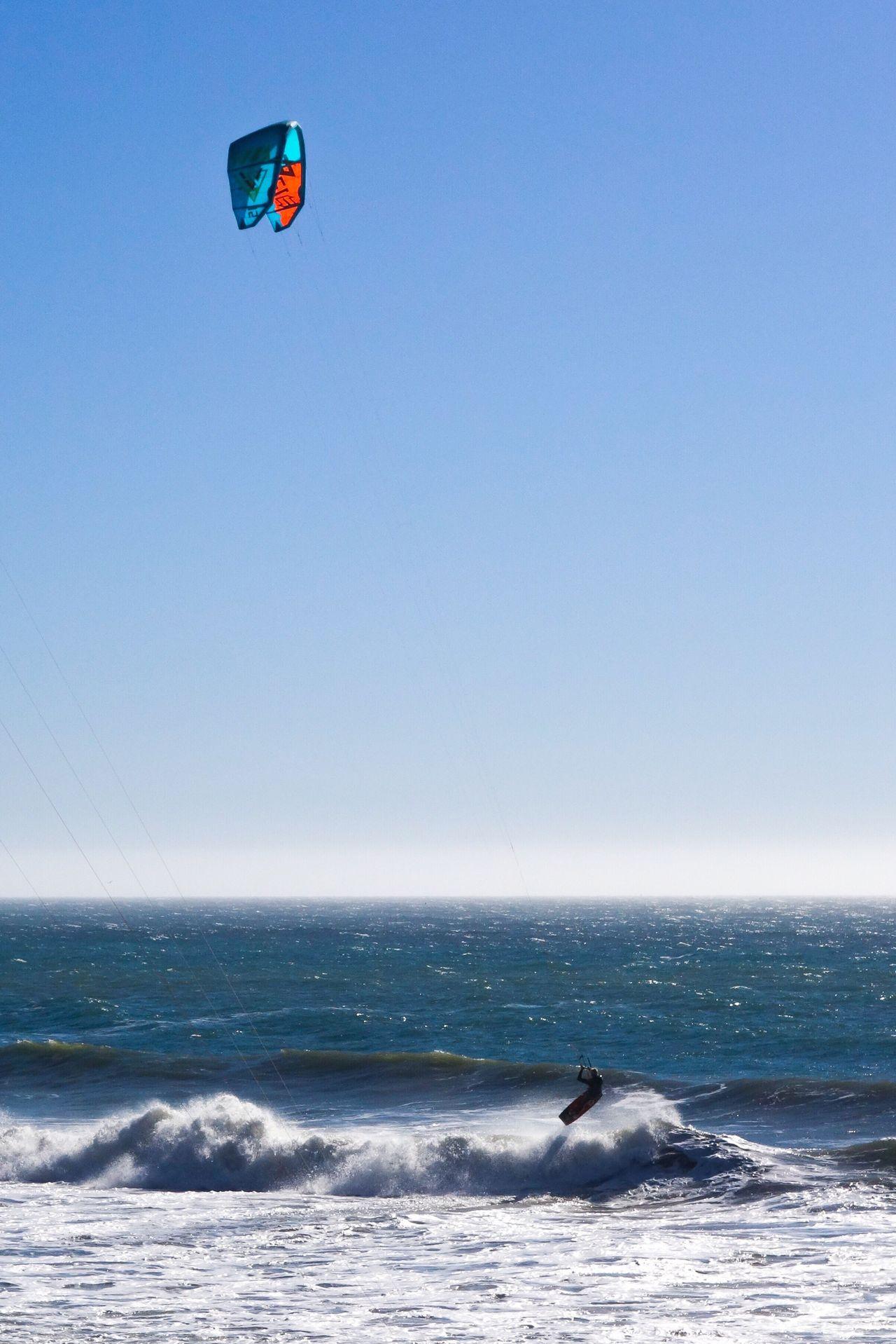 Waves Sea Adventure Water Extreme Sports Real People Sport Mid-air One Person Flying Scenics Lifestyles Santa Cruz California California Ocean Kitesurfing EyeEmNewHere Travel Pacific Wave Jumping Surfing Shore Wave Jumping The Great Outdoors - 2017 EyeEm Awards