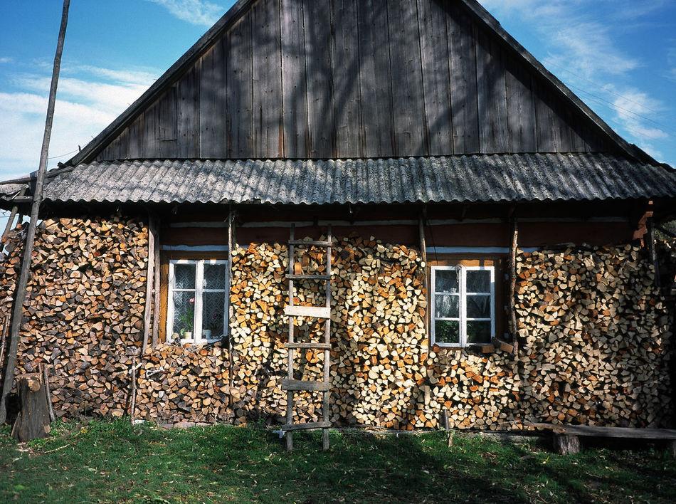 Beskid Beskid Niski Beskidy Chyza Chyza Day Firewood Hut Huts Niski No People Outdoors Wooden House