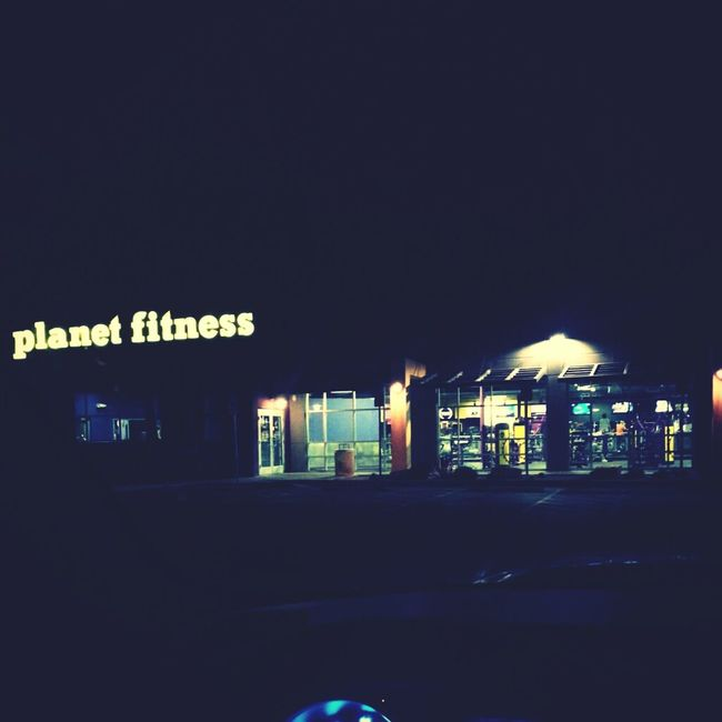 Couldn't Sleep So Came To The Gym :)