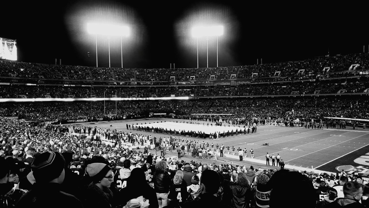 NFL Football Oakland Raiders 510 Stadium Raiders RaiderNation