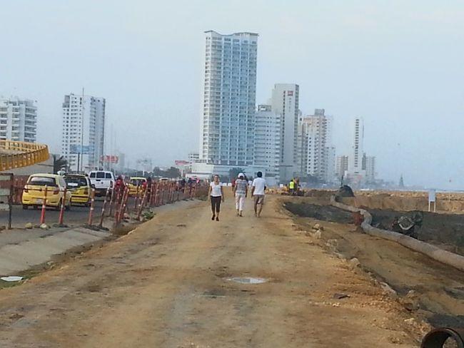 My Best Photo 2015 Urbanexploration Construction Cartagena Se Transforma Anillo Vial De Crespo