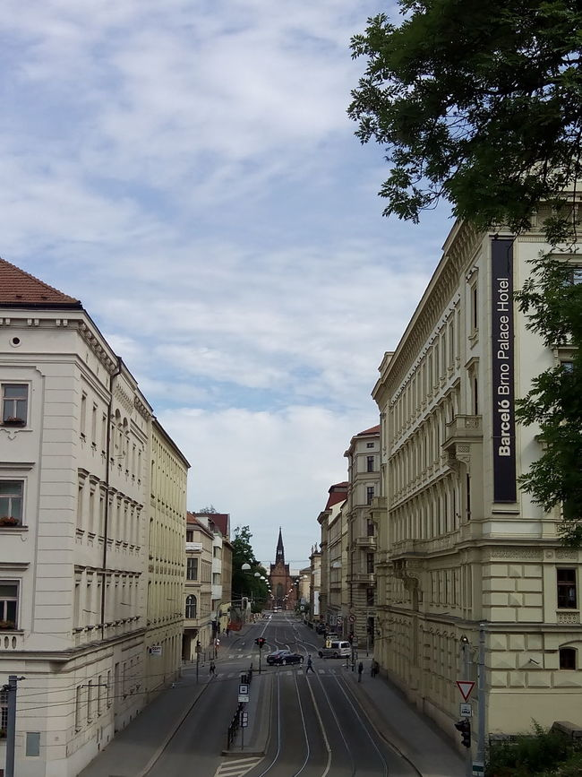 Brno Town City City Architecture Vertical Street City Street Road Travel Destinations Cloud - Sky Sky The Way Forward Built Structure Cityscape Day