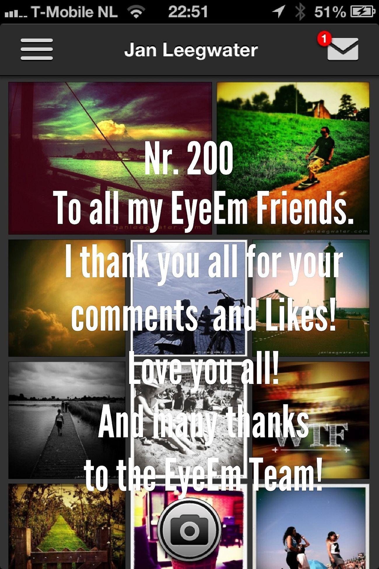 My 200st photo! I Love EyeEm Eye4photography  EyeEm