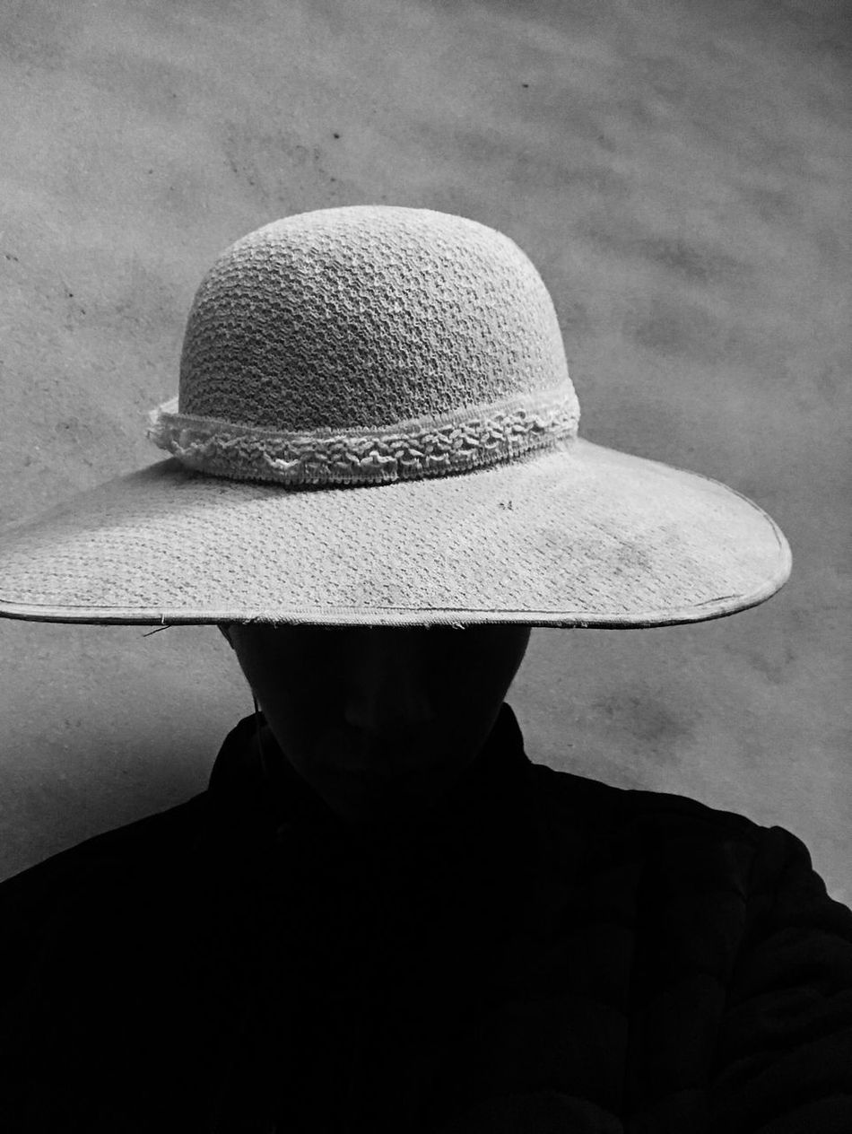 Hat One Person Men Lifestyles Headshot Sun Hat Real People Human Body Part Outdoors Headwear Day One Man Only Only Men People Adult Adults Only Selfie ✌ Spooky Old Timer