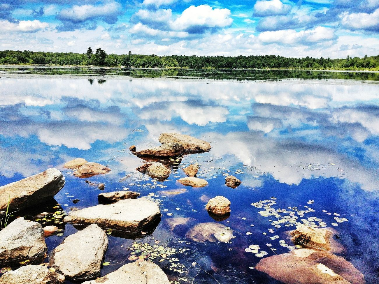 Water Reflections Cloudporn Sky_collection Stepping Stones