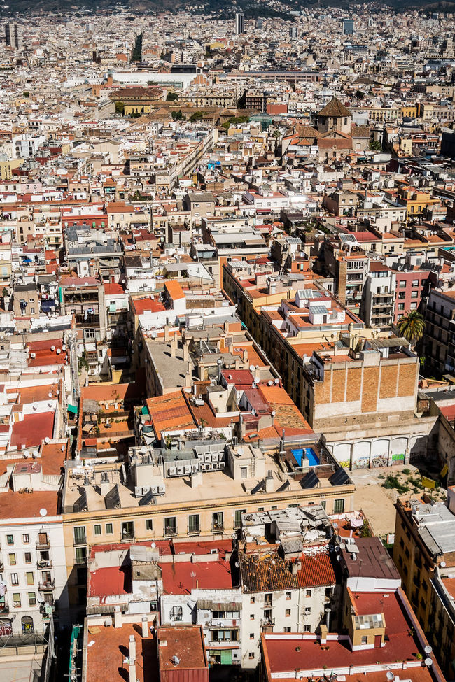 Architecture Building Exterior Built Structure City City Life Cityscape Community Day Development Elevated View Human Settlement No People Outdoors Residential District Residential Structure Roof Sky Town TOWNSCAPE