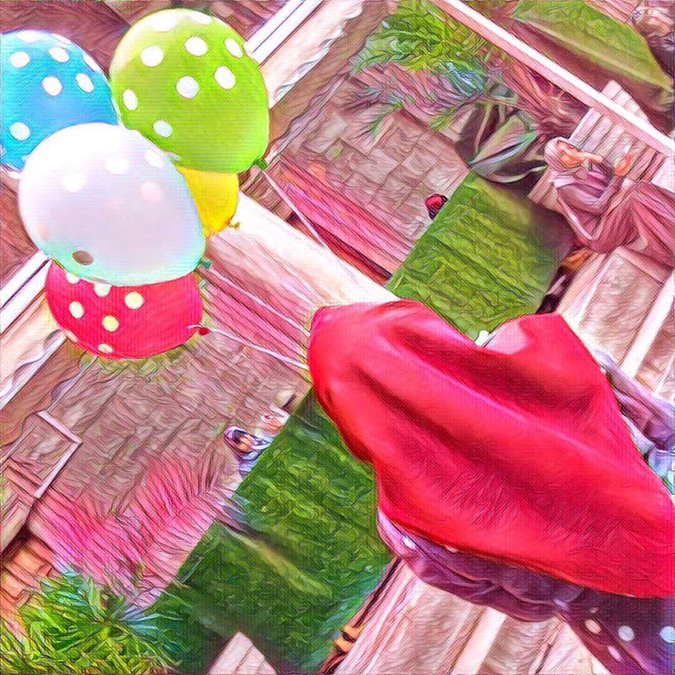 Celebration Holiday - Event Multi Colored Tradition Indoors  No People Cultures High Angle View Traditional Festival Balloon Party - Social Event Sweet Food Day Close-up