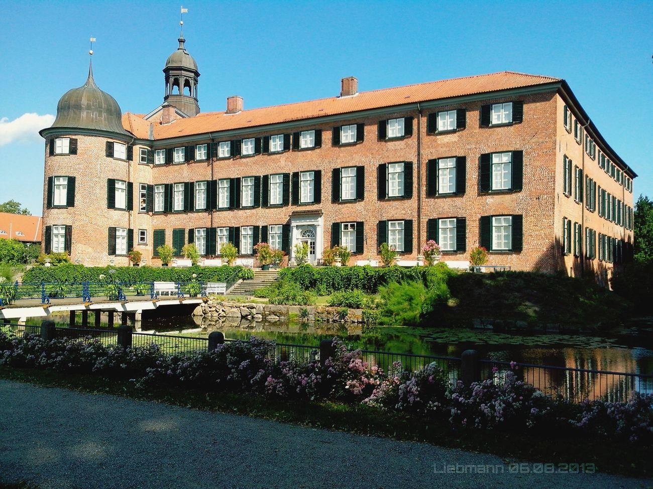 Castle Landscape History Schloss Germany Ostholstein Bulding Architecture