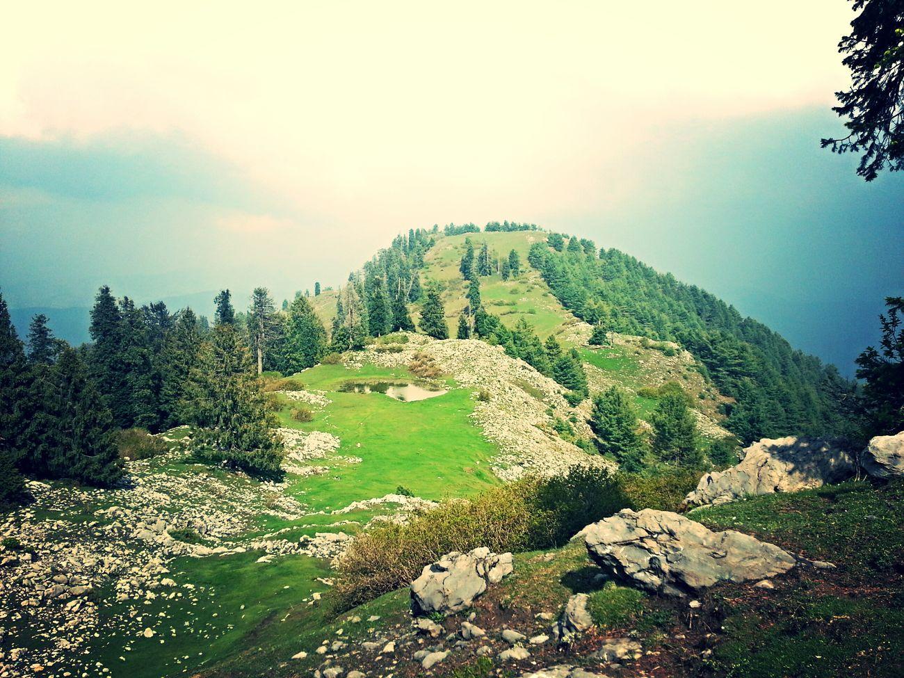 Mountains Enjoying Nature Hiking Hanging Out