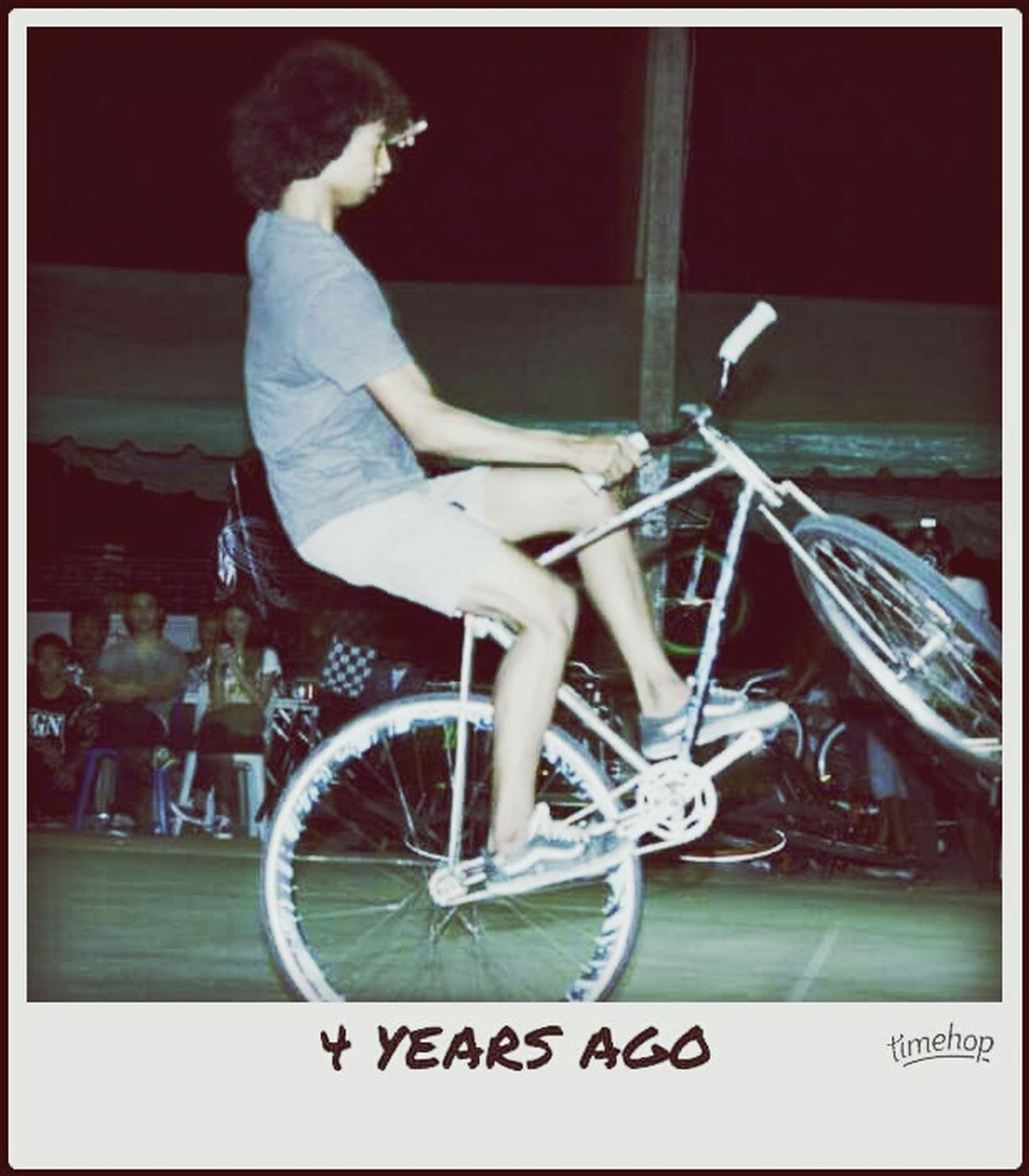 Thailand Fixedgear Old 4YearsAgo Win Bike Barbike Ride