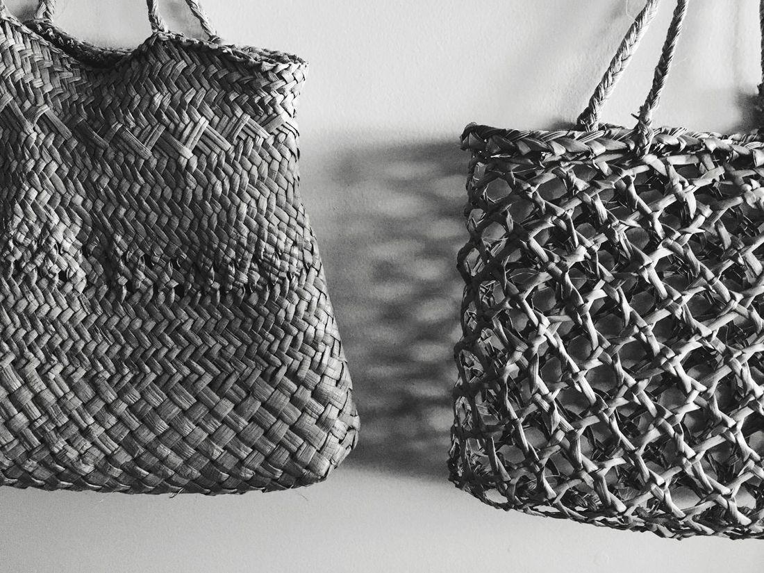 Blackandwhite Pattern Basket Close-up No People Indoors  Day