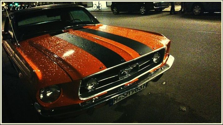 Muscle cars by Harry Bo