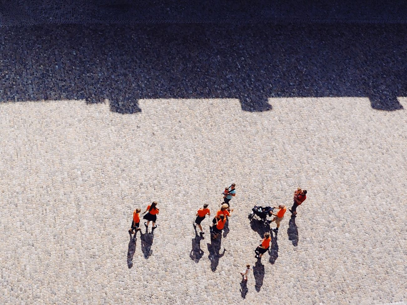 High Angle View Outdoors Togetherness Large Group Of People Birds Eye View View From Above Looking Down Minimalism Minimalobsession Flying High
