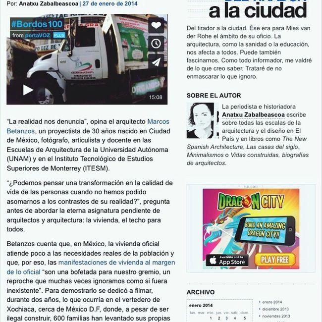 Bordos100  by @mbetanzos la eterna asignatura pendiente x @Anatxu Zabalbeasca Proyectos ArquitecturaVivienda #materiales #reciclaje