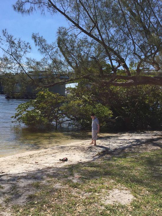 Playing in the sand Jupiter Florida Jupiter Lighthouse Boyhood Boy Beach Time Beachlife Sandy Beach