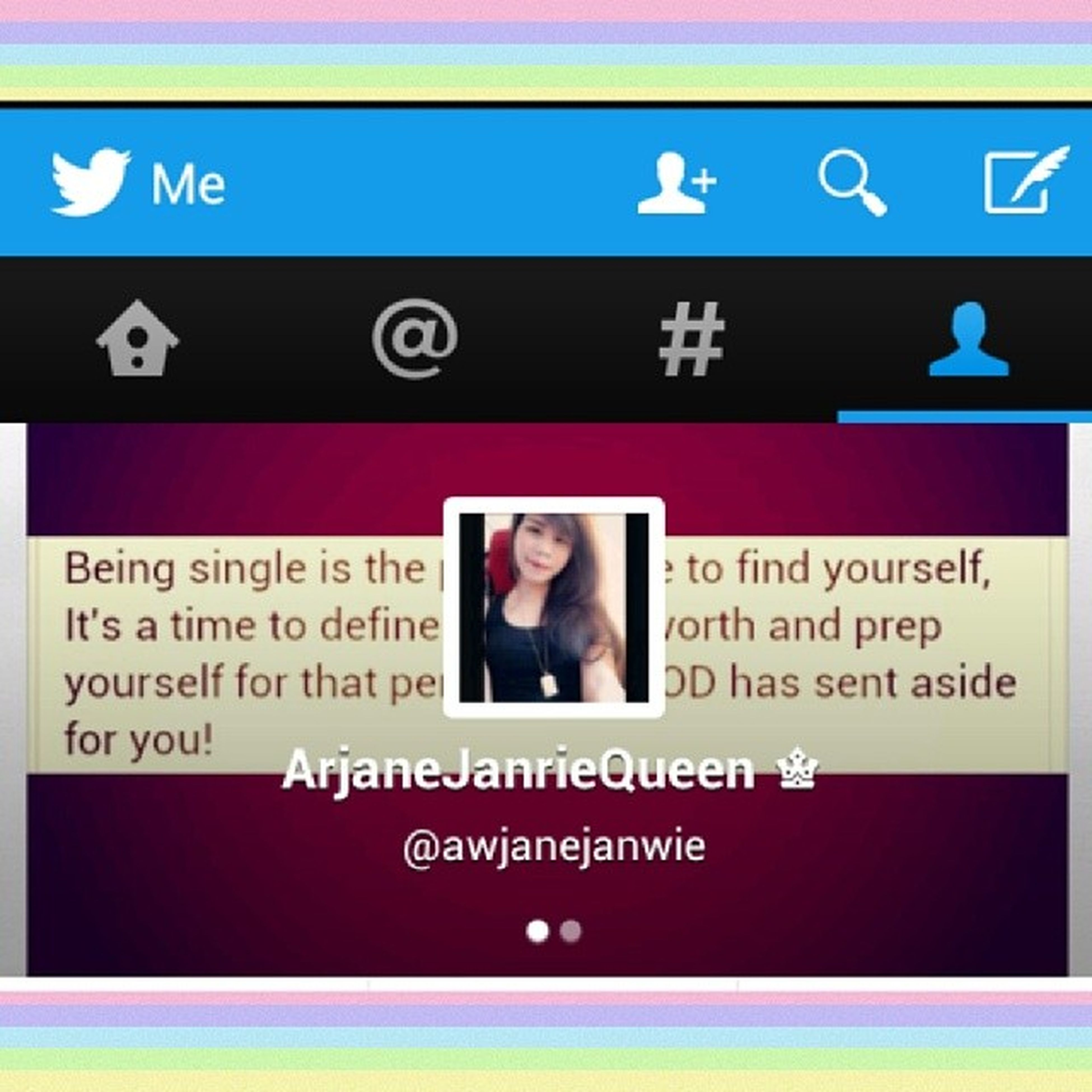 Haters gonna hate. Potatoes gonna potate. Here is where you can find thee. Les tweet. ♥ Twitter Follow Awjanejanwie