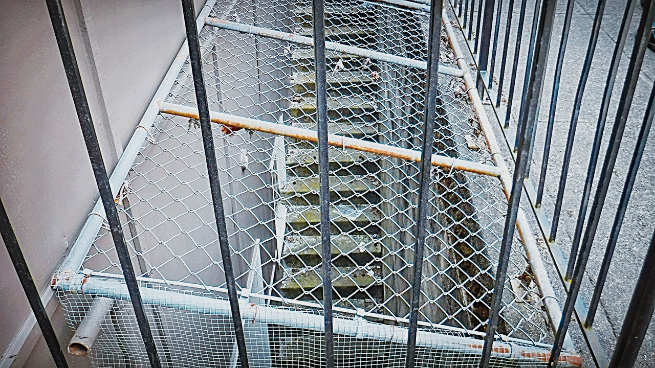 Showcase July Down The Stairs Fences & Beyond Gates And Fences Mixed Metal Taking Photos Check This Out Hello World Pattern, Texture, Shape And Form Eyeem Collection Urban Exploration Railings And Iron My Perspective This Week On Eyeem BYOPaper! The Street Photographer - 2017 EyeEm Awards