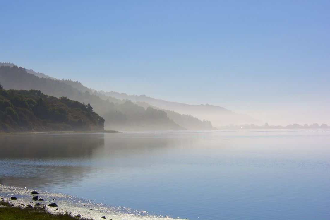 Calm Coastline Lagoon Outdoors Sand Stinson Beach Tranquil Scene Water Waterfront Landscapes With WhiteWall