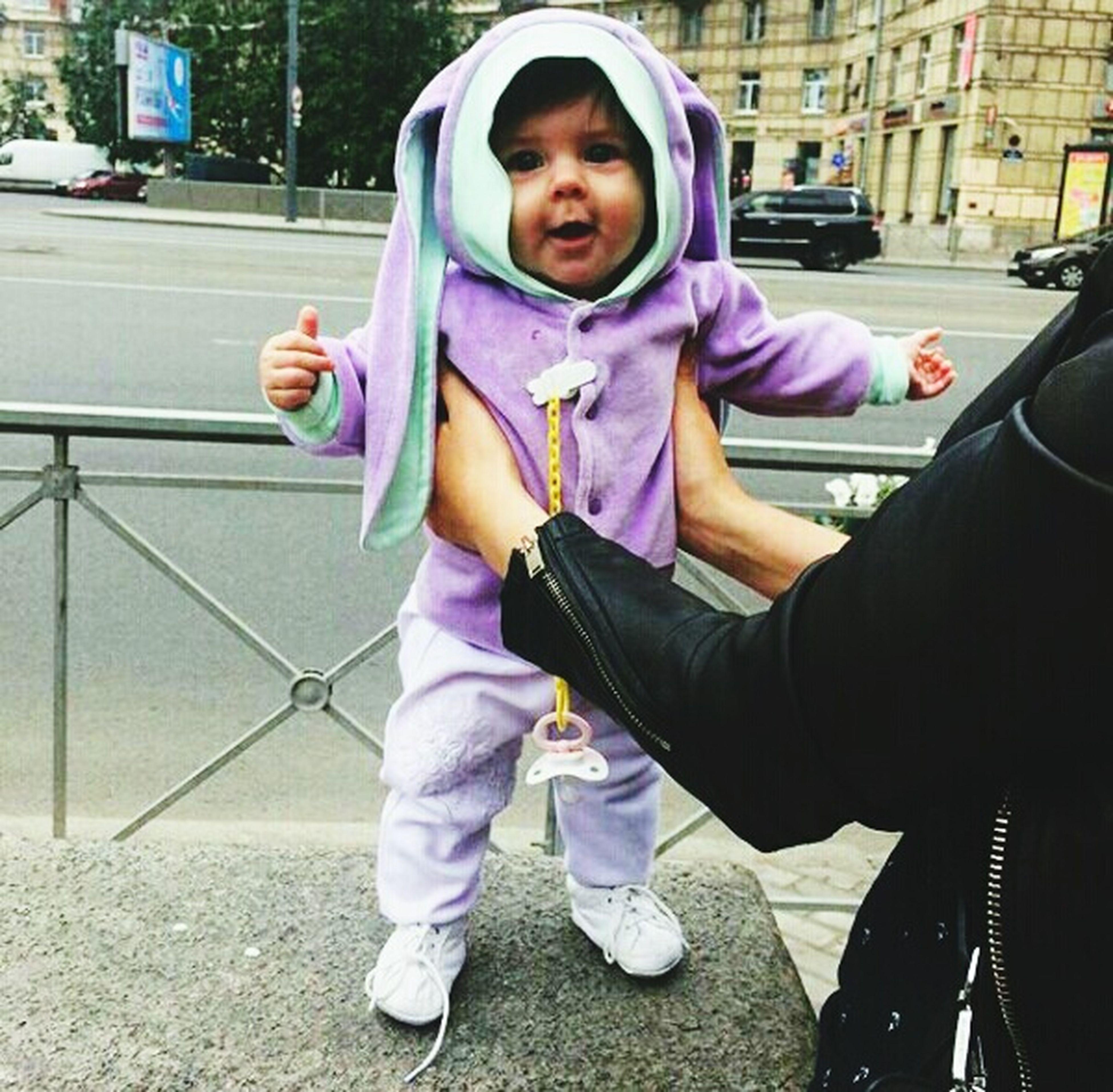Зайка растет😊😍😱😎💗🐰🐾⛅ Girls Child Childhood City Love Niece 💕 Vacations Bunny 🐰 Lifestyles Summer MyPrincess💕 5monthsold Sister ❤ Happy Hour Day Fiststep First Eyeem Photo