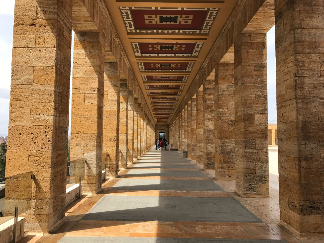 Nature Architecture Built Structure Tourism History The Way Forward Travel Men Travel Destinations Architectural Column Shadow Day One Person Indoors  One Man Only City Adult People Only Men Anıtkabir