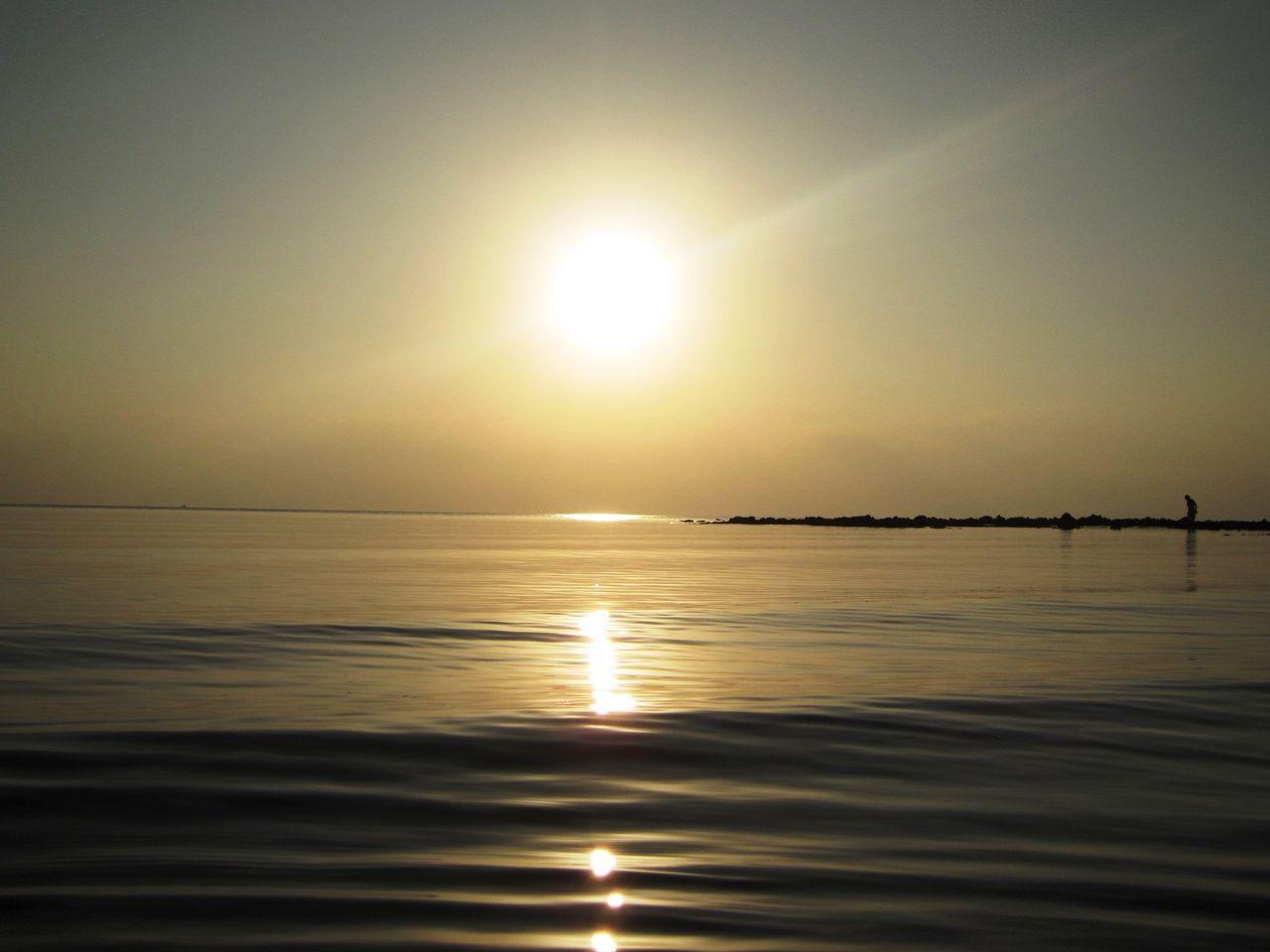 calm island sunset Beauty In Nature Calmness Horizon Over Water Nature Sea Serenity Sunset Tranquility EyeEmNewHere