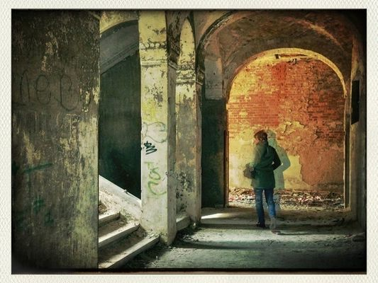 lostplaces at Beelitz Heilstätten bei Potsdam by ellele