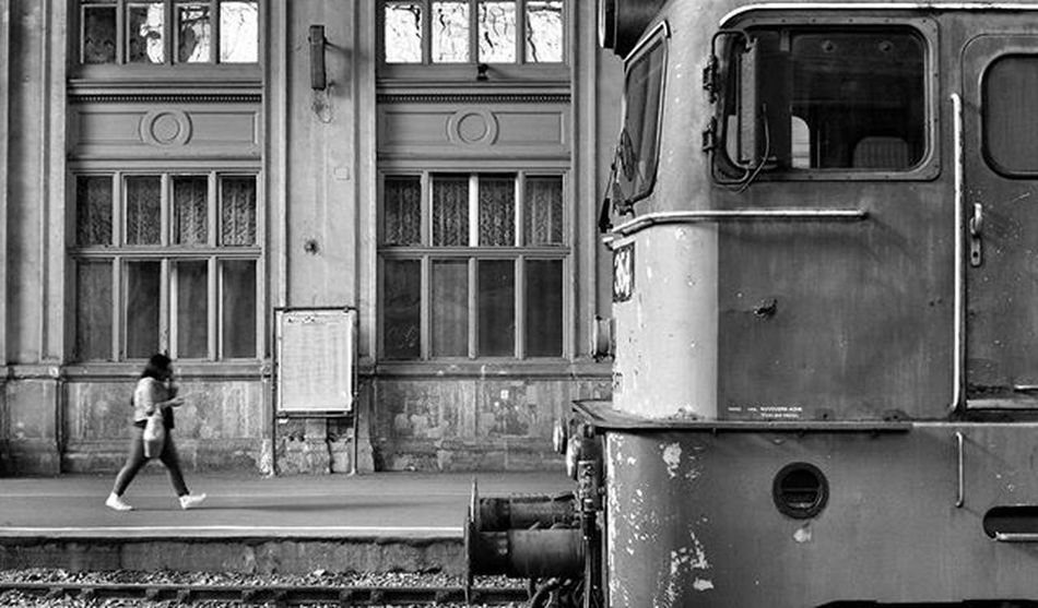 Hungary Budapest Bnw_captures Bnw_society Bnwhungary Blackandwhite Art Mood Grey Alone Train Station Nyugati Old Autumn Time Traveling Railway