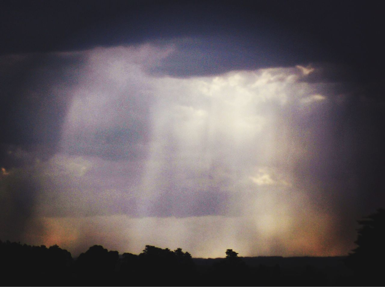 Australian landscape, flash rain, sunbeams, sunlight , shadows , light ,cloudscape, mountainscape, Nature Sky Silhouette Beauty In Nature Cloud - Sky Tree Scenics Tranquil Scene Outdoors Tranquility No People Day weather, Nature Photography Weather Photography Rain Burst , Sun Breaking Through Clouds sunburst , NSW, Blue Mountains