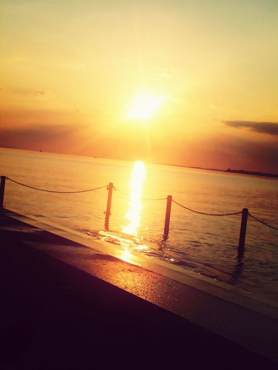 Sea View Beautiful Sunset just Enjoy ✌ and lets Realax :)