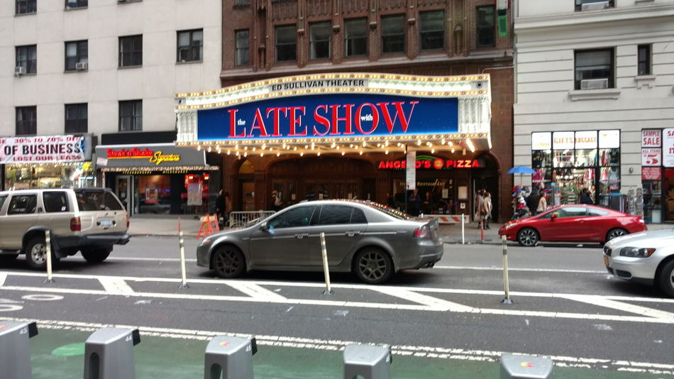 NYC Late Show Times Square NYC