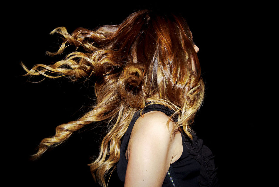 Beautiful stock photos of party, Beautiful, Black Background, Blonde Hair, Head And Shoulders