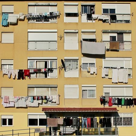 Window Windows Laundry No People Urban Outdoors Day Culture