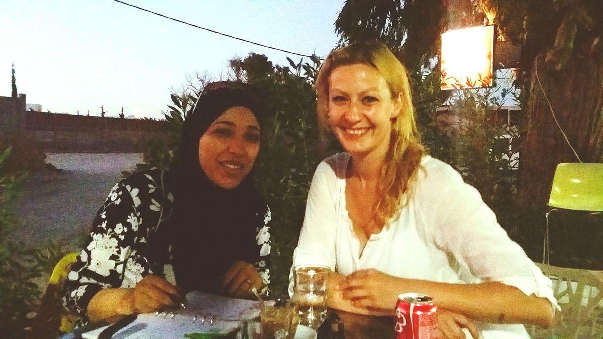 Interview for Chourouk journal about Peacetunisia www.facebook.com/forpeacetunisia /// Peace Tunisia Tunisians Oneworld Djerba  Night People