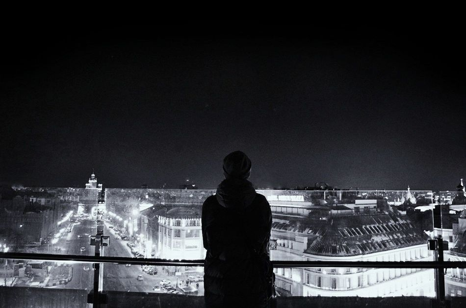 One Man Only Sky Outdoors City People Night One Person Young Adult Nice Perfect Boy Blackandwhite Black & White Beautiful EyeEmNewHere Photographing Travel Destinations Shadow Light Wonderful Day Cityscape Nightlife Illuminated Architecture Built Structure Welcome To Black The Secret Spaces