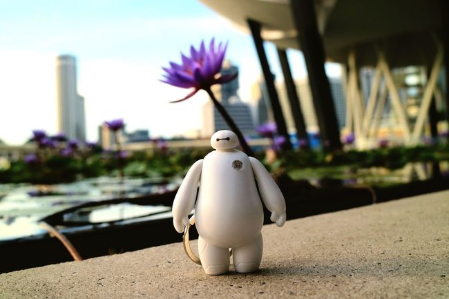 toy in the city Focus On Foreground Leisure Activity City In Front Of Outdoors Toys Marina Bay Sands Eyeem Singapore
