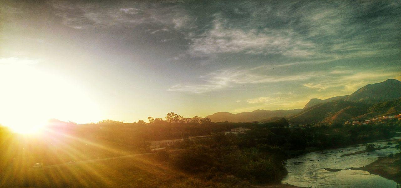 Mais um sol se vai Sunset RioPiracicaba Timoteo Minasgerais Wanderteixeira