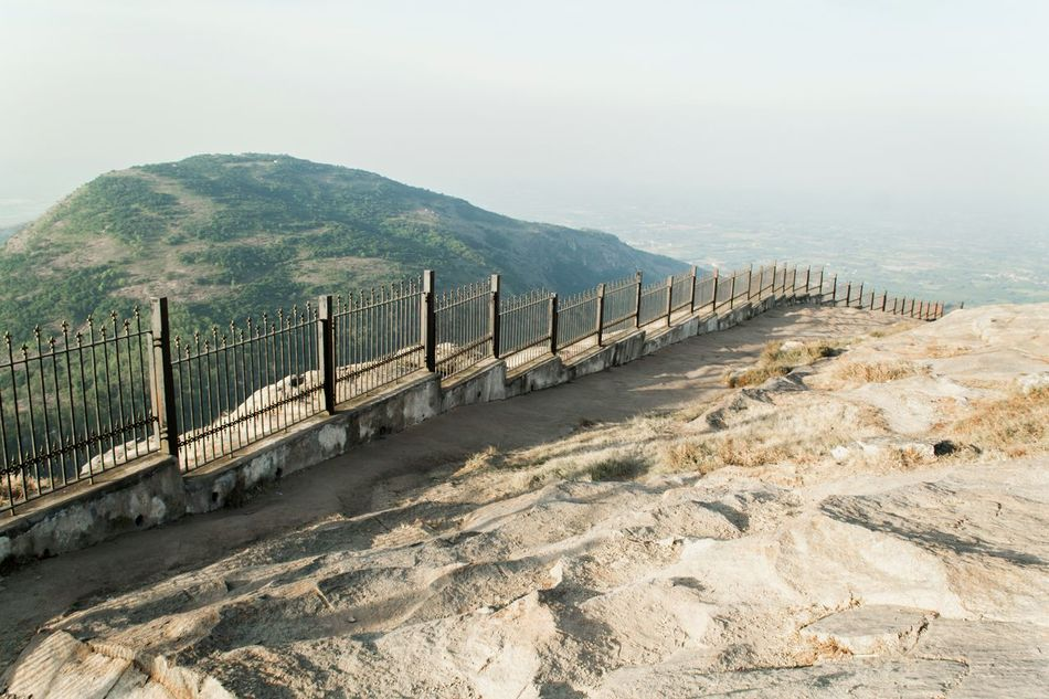 Outdoors Mountain No People Day Sky Landscape Sunny Day Fog Fencing Rocky Mountains Mountain View Nature