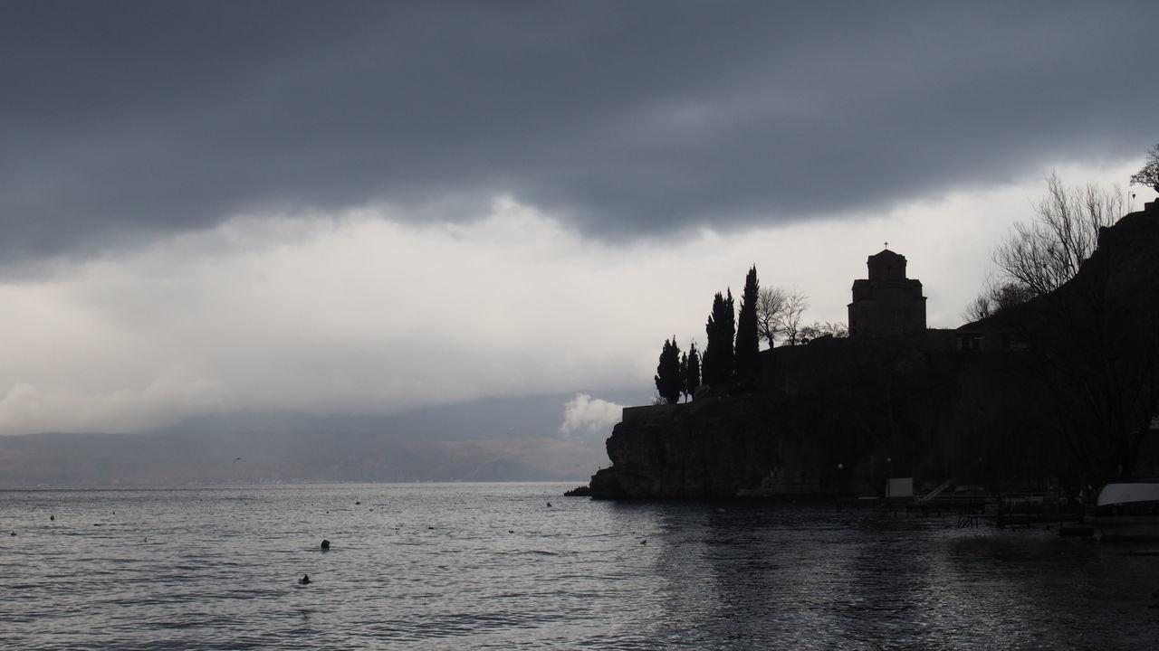Cliff Famous Place Idyllic Kaneo Non-urban Scene Ohrid Ohrid Macedonia Outdoors Tourism Tranquil Scene Tranquility