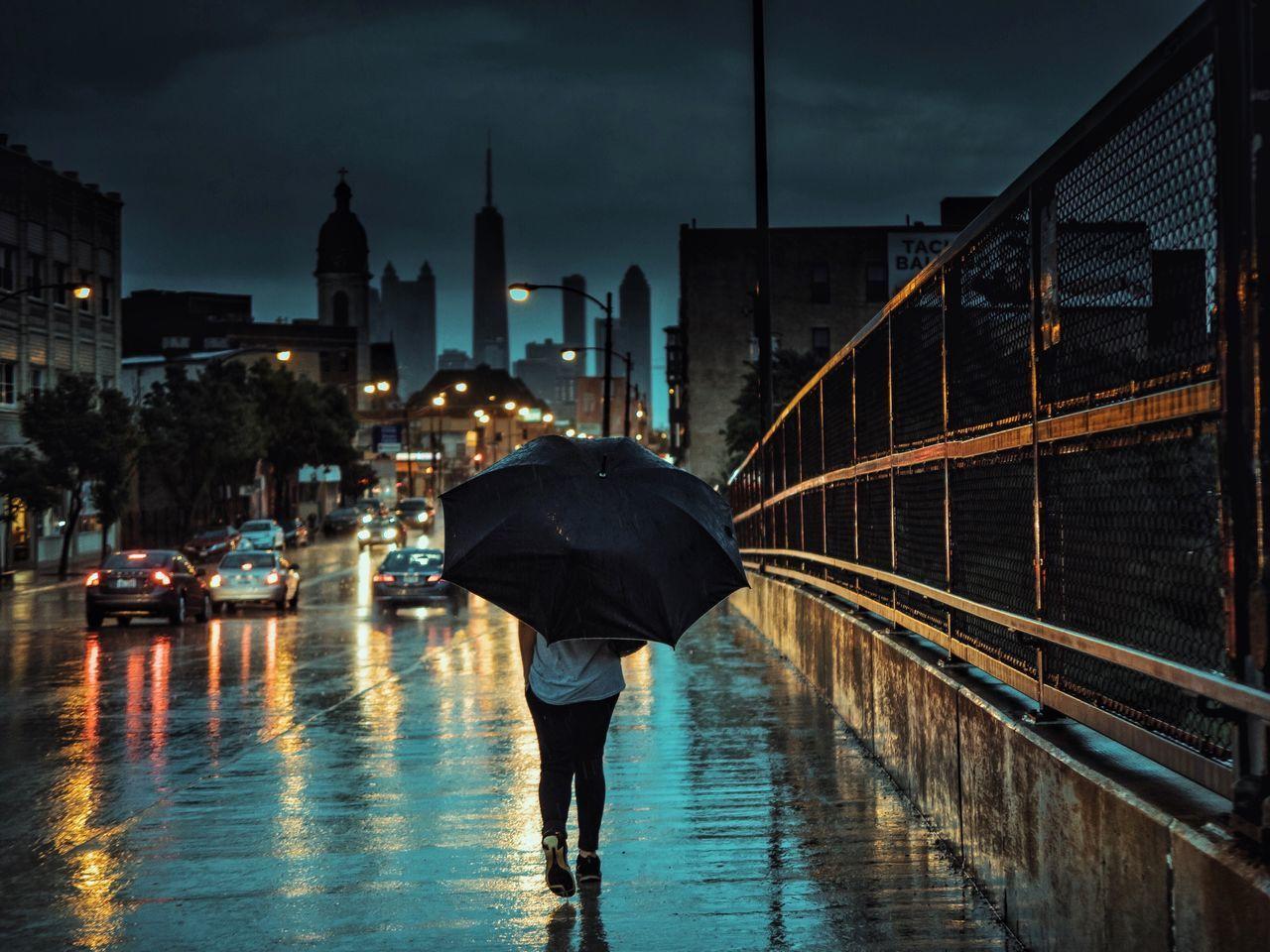 Chicago Architecture Moody Sky EyeEm Best Shots Moody Rain Umbrella VSCO