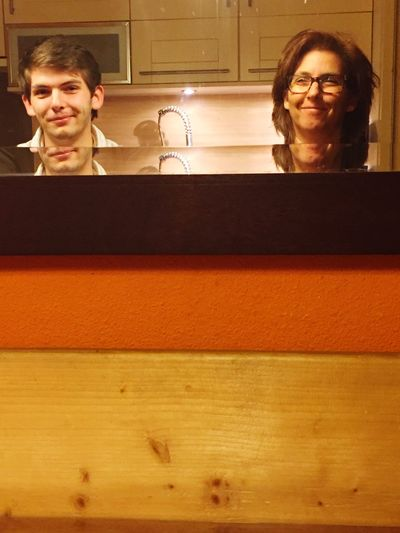 Me And My Son Looking In The Mirror Showcase: November People And Places Break The Mold