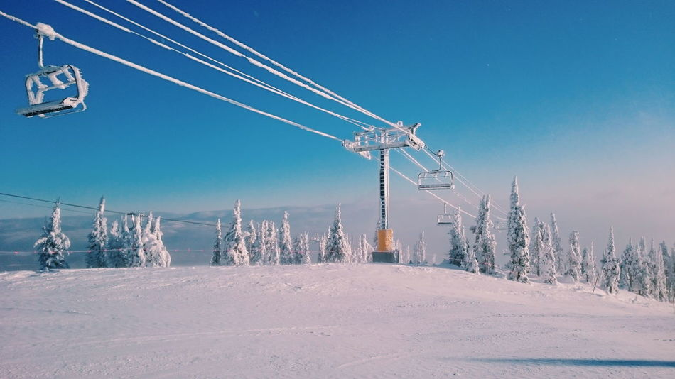 Beautiful stock photos of snow, Blue, Clear Sky, Cold Temperature, Day