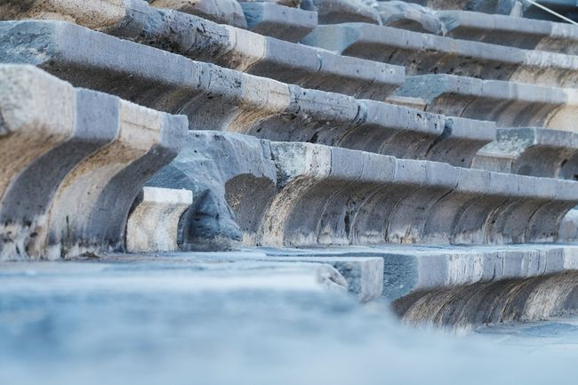 Antik Theater Turkey Selective Focus Stairs Theater Alanya Stone History Antique Aspendos Ancient Theatre Aspendos  Perspective Close-up Change Your Perspective EyeEm Gallery EyeEm Best Shots