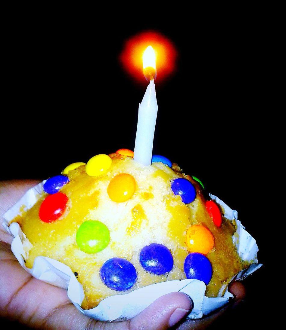 Cupcake with Love Enjoying Life