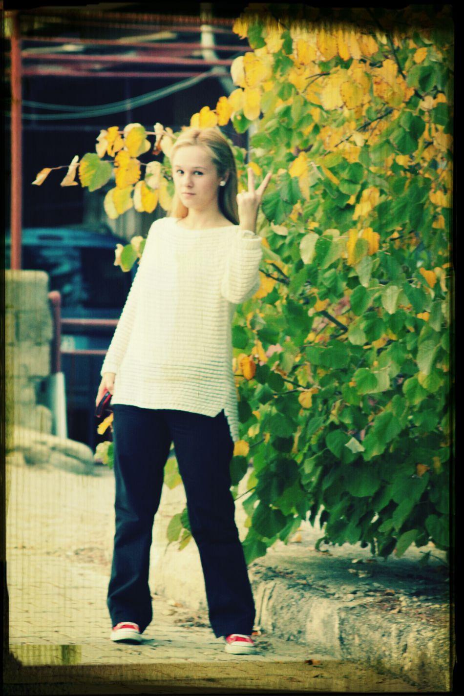 Peace! I Love Tree... Bye Bye Bulgaria Hello World