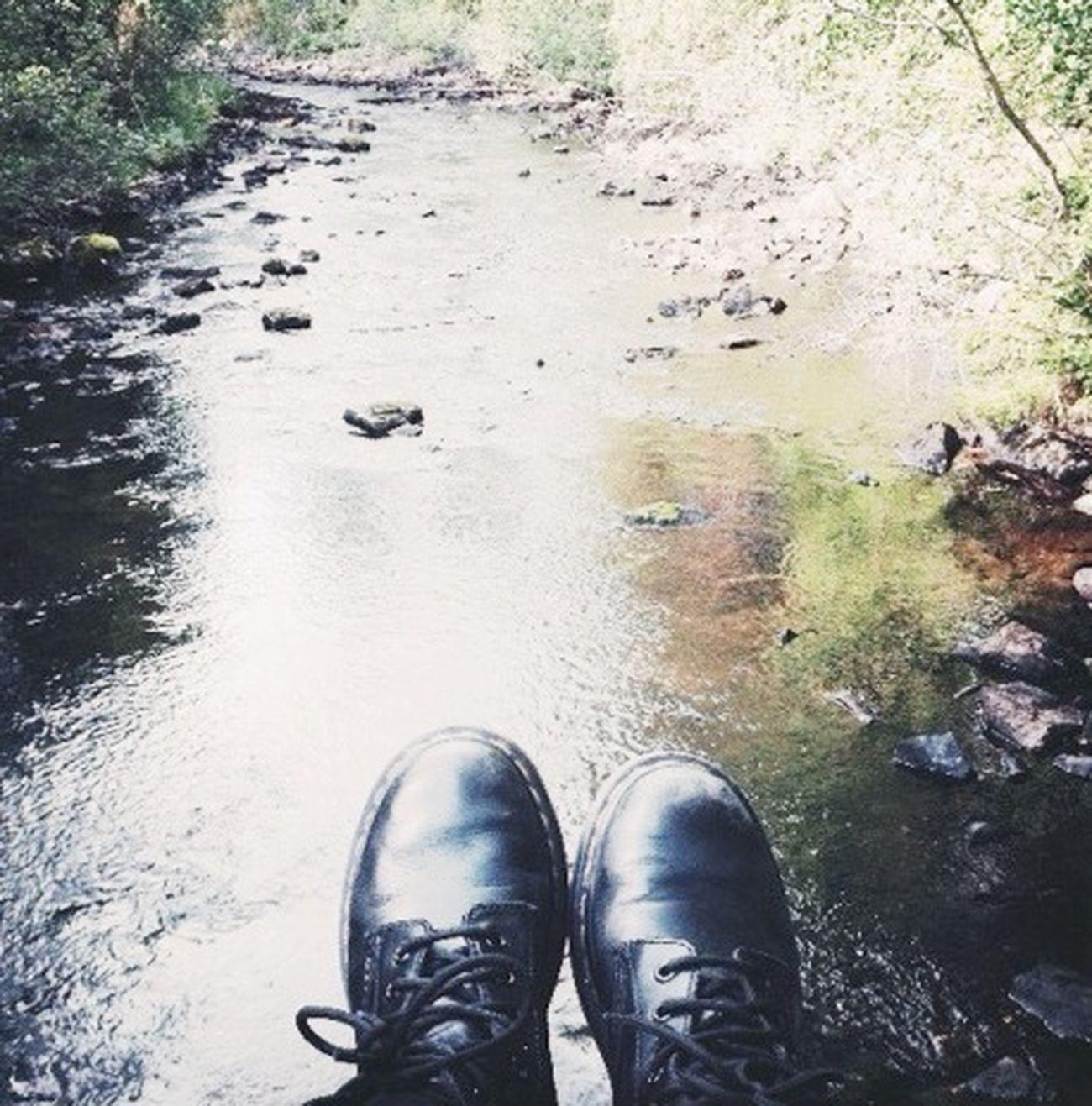 Beautiful Lake and my Dearest Drmartens
