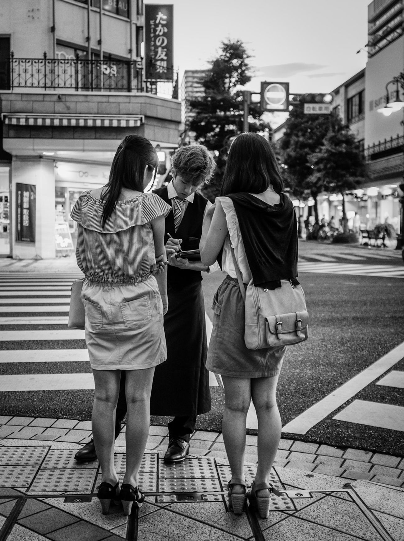 Reserving Japan Japanese  ASIA Streetphoto_bw Streetphotography Fashion Style People City FujiX100S