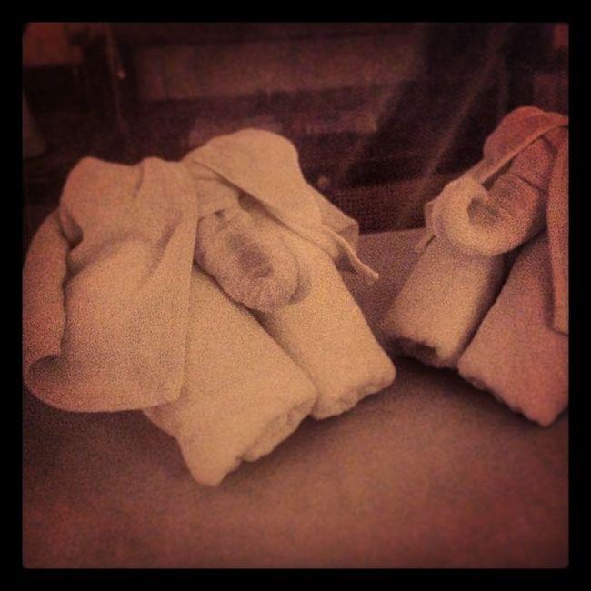 Elephant Towels at Buddyhotel Kosamui