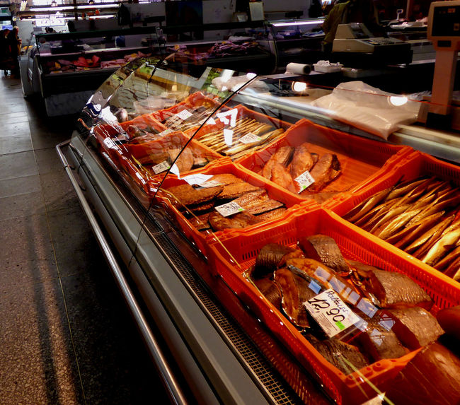 Collection Fish Fish Market Fishing Food Food Shopping Large Group Of Objects Market No People